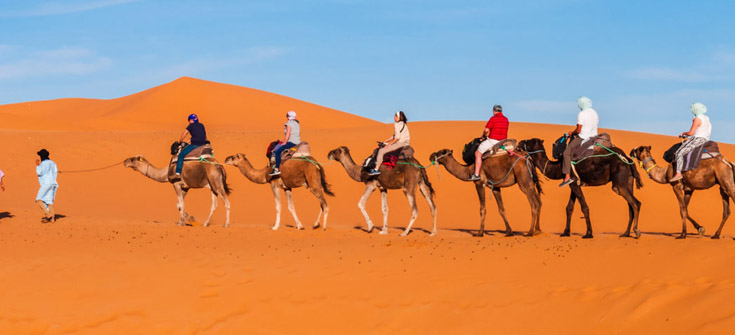 3 Days Tour: Fes Merzouga Desert Tour to Marrakech