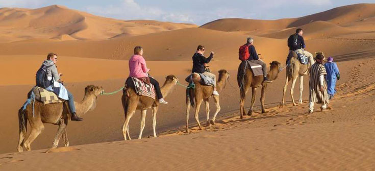 3 days tour From Marrakech to Fez desert tour